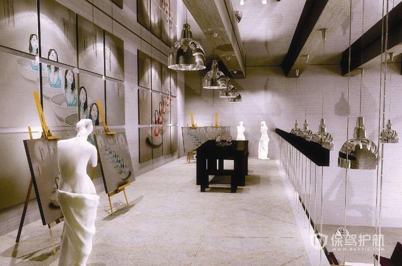 画室墙面装修效果图-保驾护航装修网