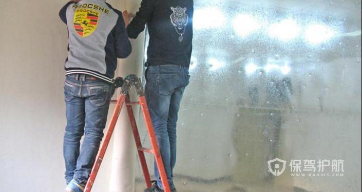 国画毛毡墙的制作方法-保驾护航装修网