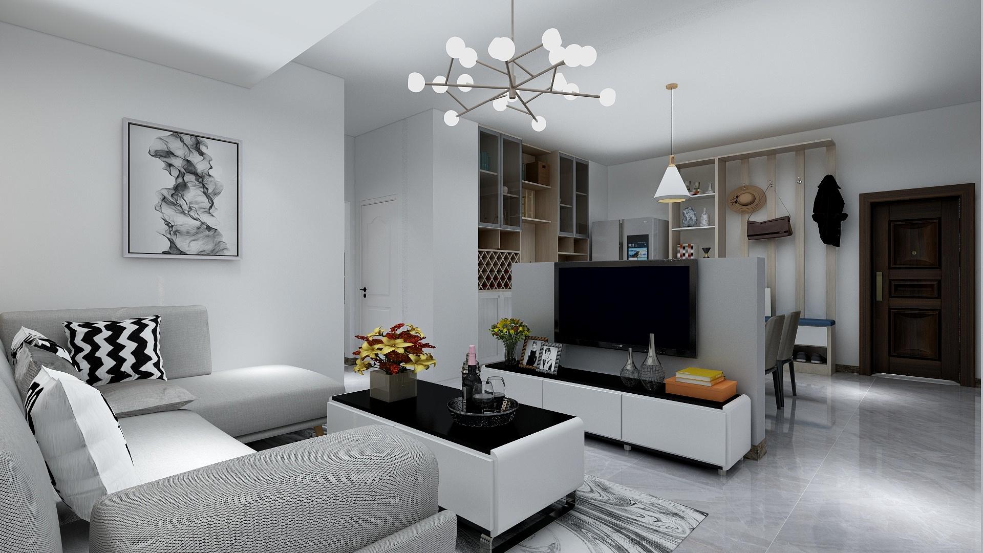 金旅城  现代三居室80平9.2万