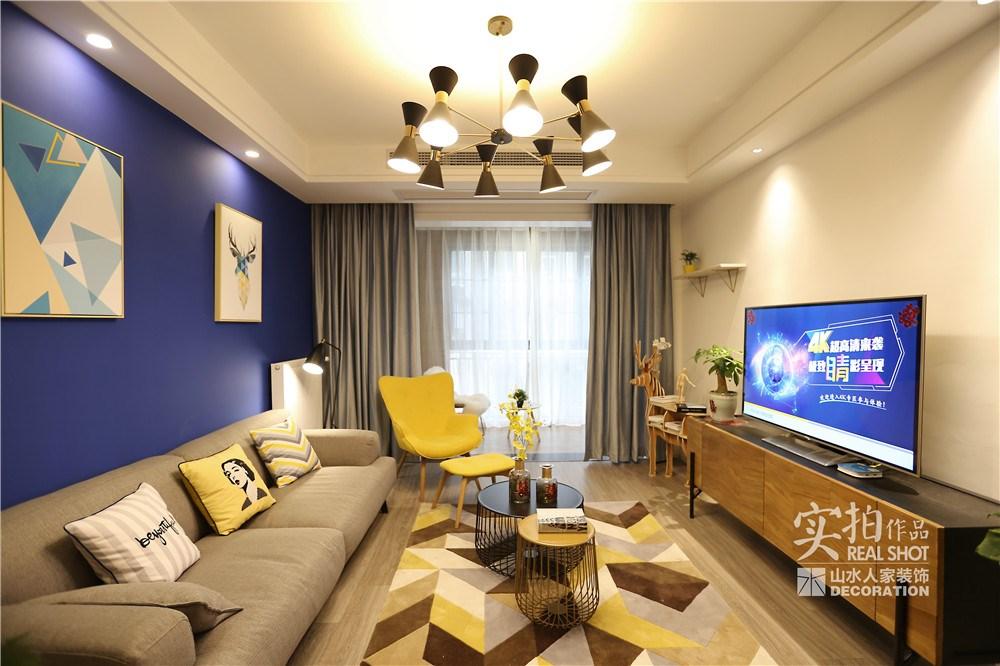 五里汉城-120平-三居室-北欧风格