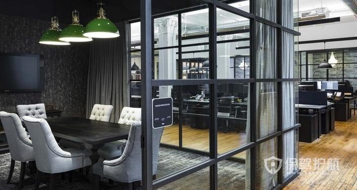 欧式风格办公室装修效果图