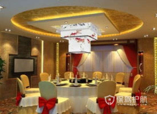 中式风格酒楼装修效果图