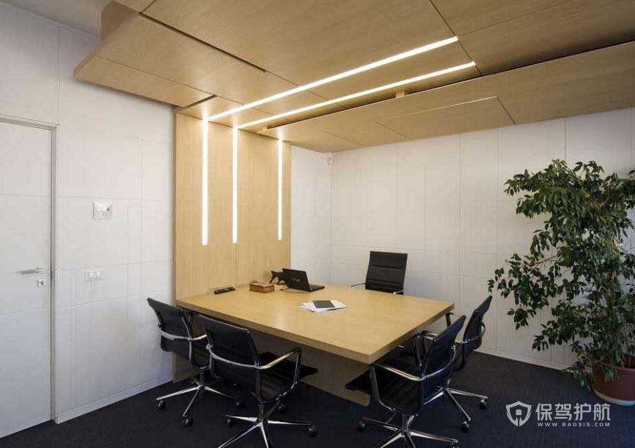 现代简约风格领导办公室装修效果图