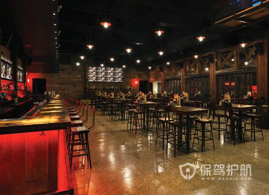 工业风格酒吧装修效果图