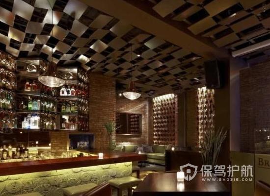现代风格酒吧装修效果图