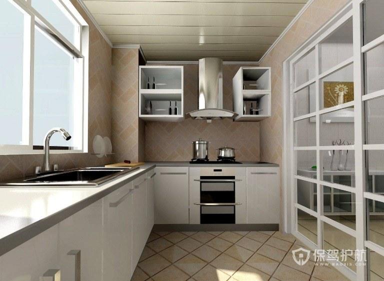 老厨房怎么改造最简单? 老厨房改造效果图