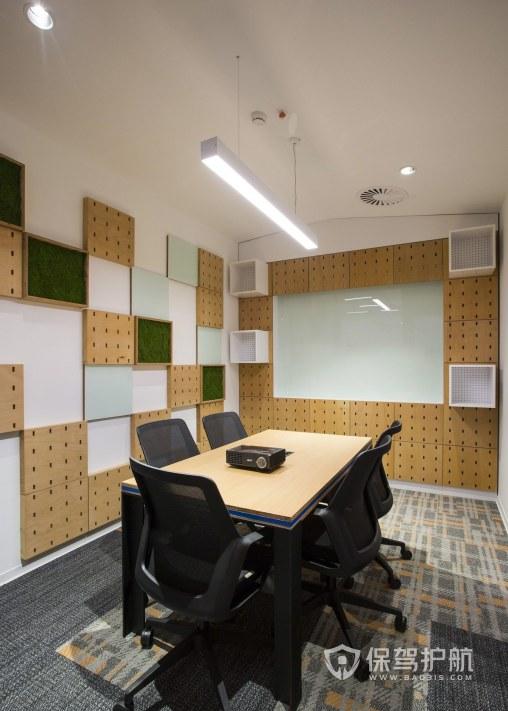 创意简约办公会议室装修效果图
