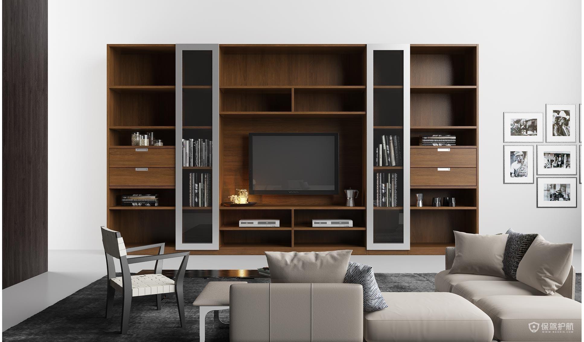 多功能组合电视柜有什么优点?多功能组合电视柜怎么选购?