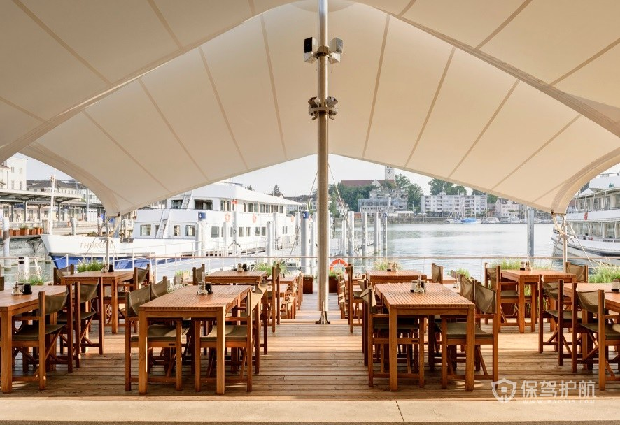 露天海景餐厅装修效果图