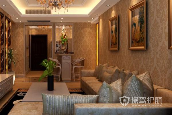 墙布和乳胶漆哪个好?家居墙面装饰效果图