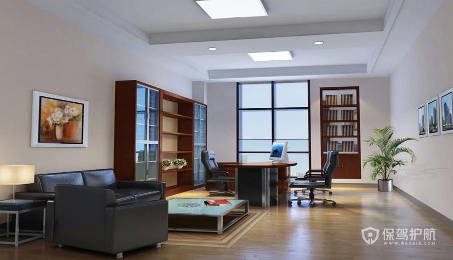 欧美风领导办公室装修效果图