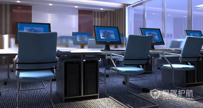 办公区现代风格装修效果图
