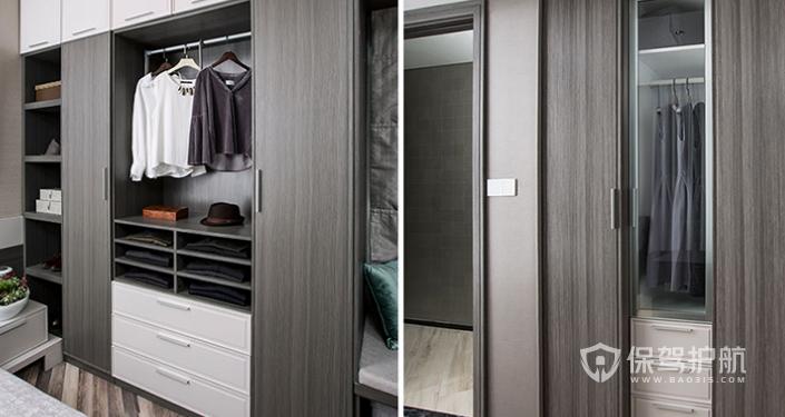 做衣柜哪種板材最好?臥室衣柜裝修效果圖