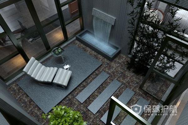 别墅天井怎么装修?别墅天井装修效果图