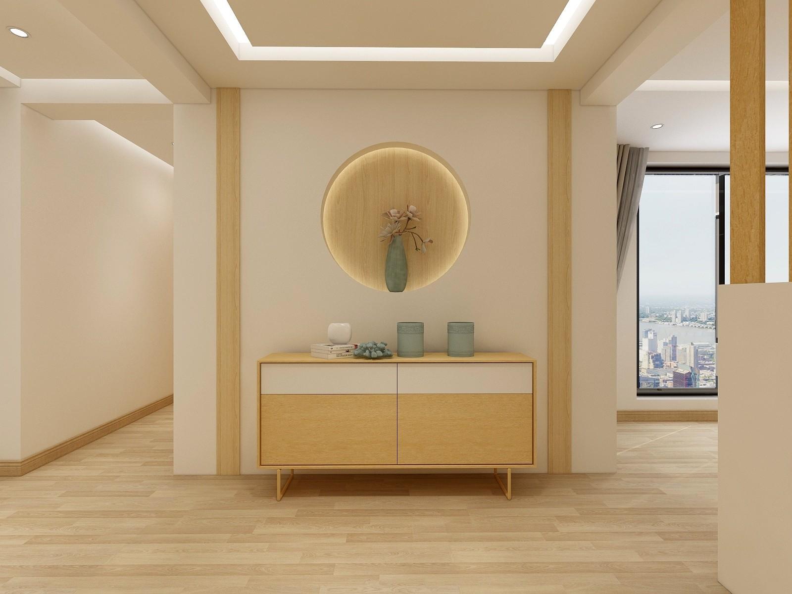 博文银座二居室日式简约风格装修效果图