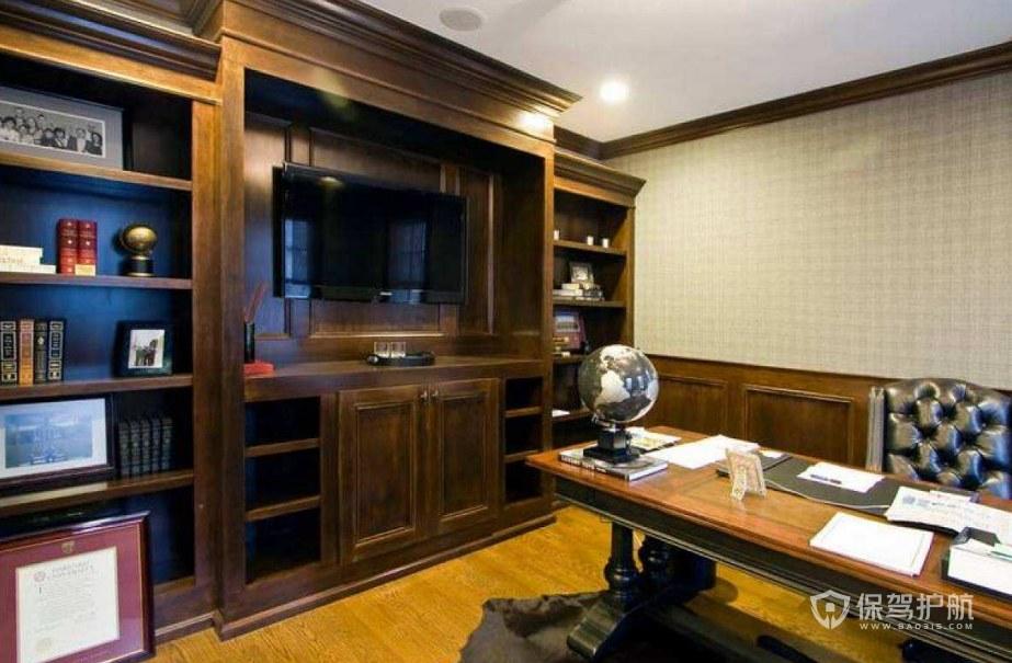欧式古典风格领导办公室装修效果图
