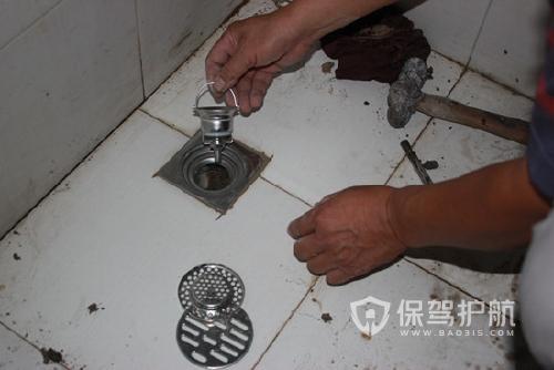 地漏堵住了怎么辦?衛生間怎么更換地漏?