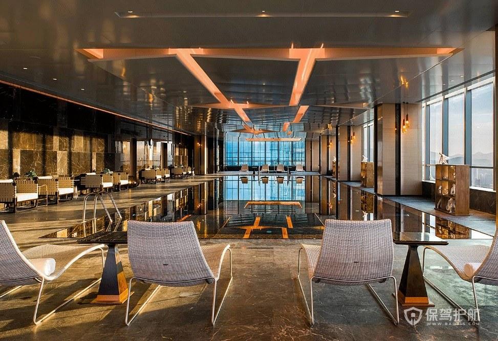巴洛克风格餐厅装修效果图