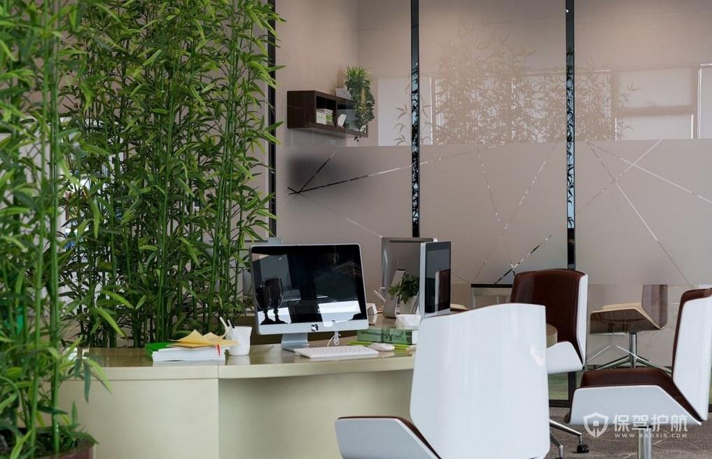 后现代风格经理办公室装修效果图