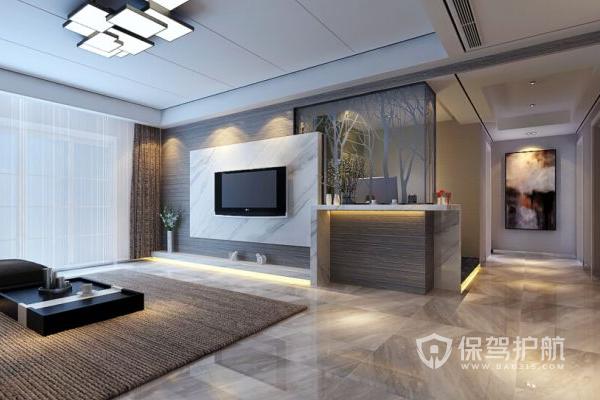 客厅飘窗设计效果图-保驾护航装修网