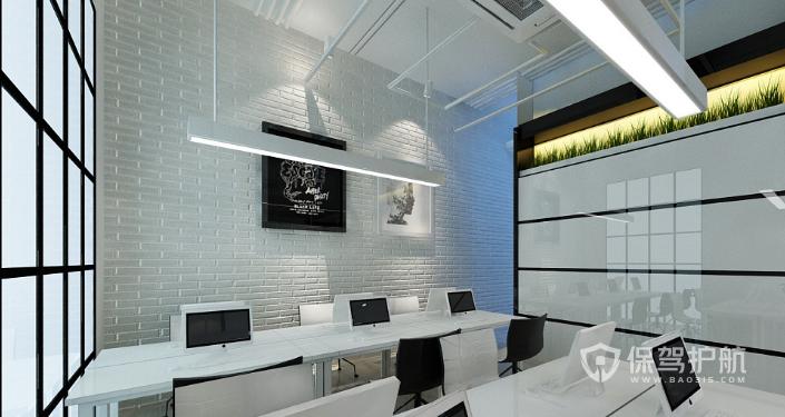 办公区背景墙装修效果图