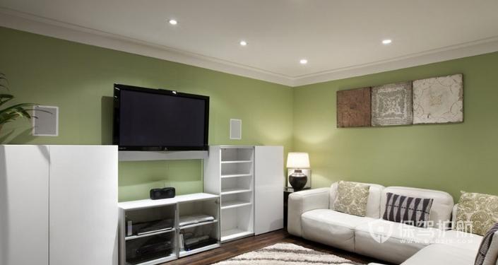 客厅电视墙装修-保驾护航装修网