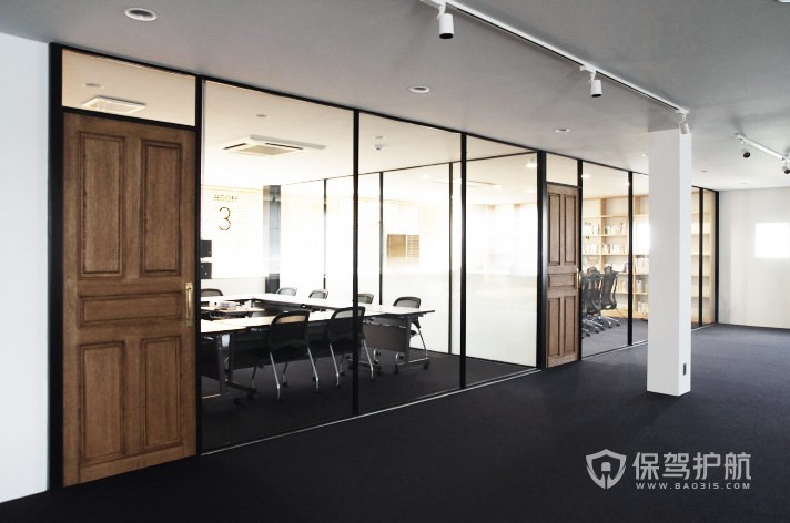 北欧风格办公会议室装修效果图