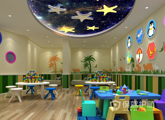 幼儿园墙面如何布置 幼儿园墙面布置注意事项