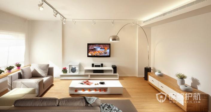 简单大方漂亮的电视墙怎么做?客厅电视背景墙装修效果图