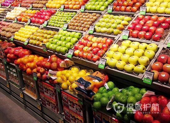 时尚现代水果超市装修效果图