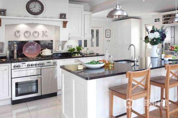 開放式廚房裝修要點,開放式廚房裝修效果圖
