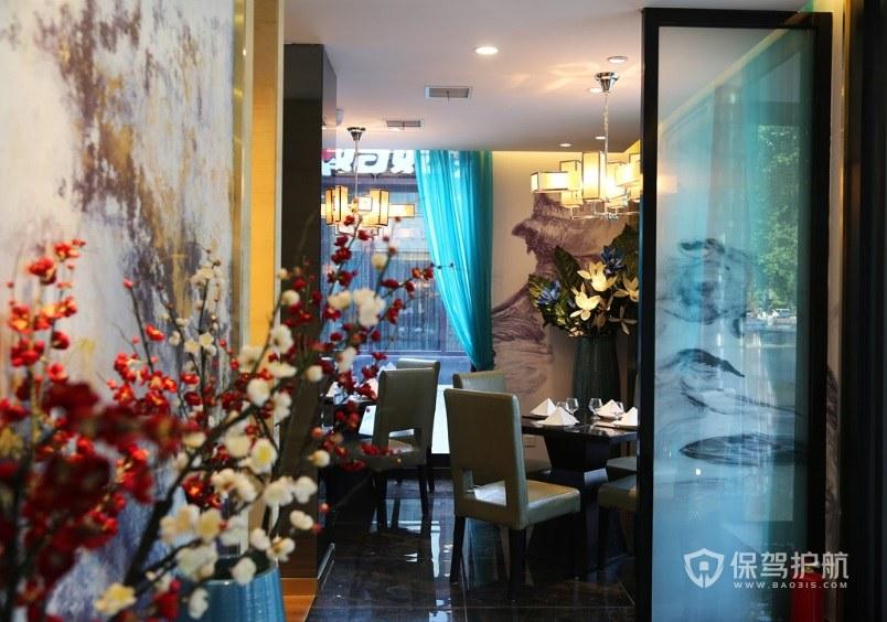 现代典雅餐厅装修效果图
