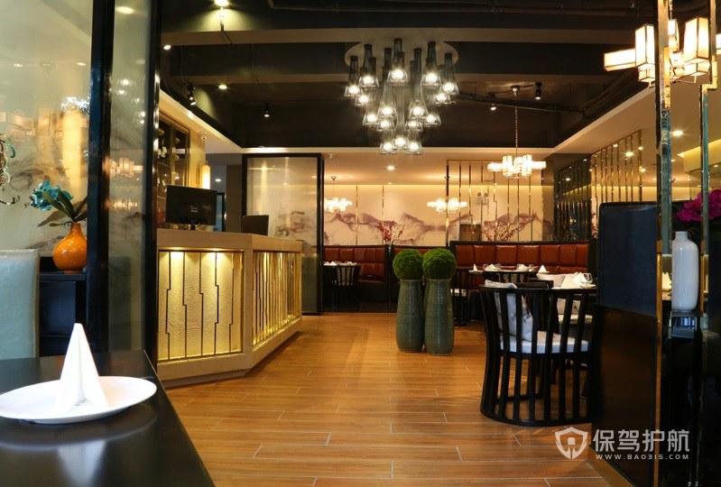 日式典雅餐厅装修效果图