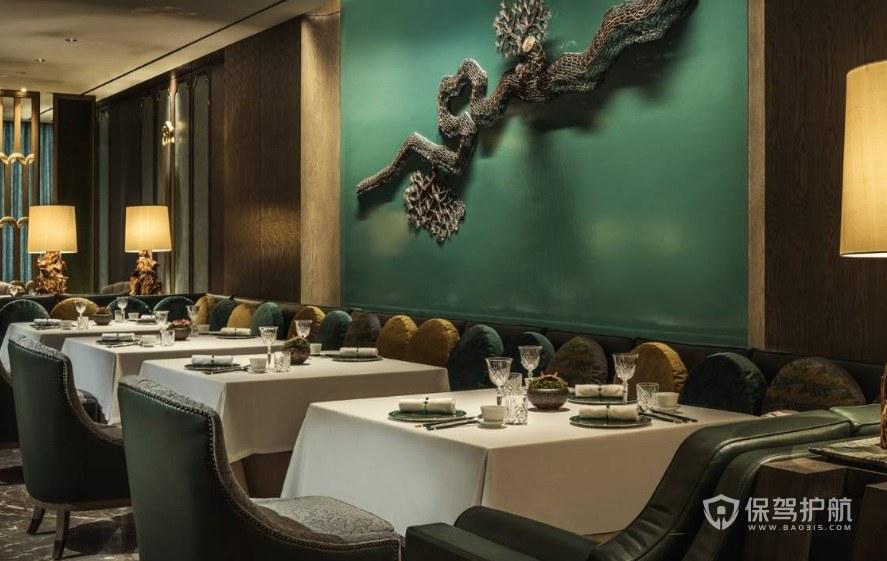 欧式古典餐厅装修效果图