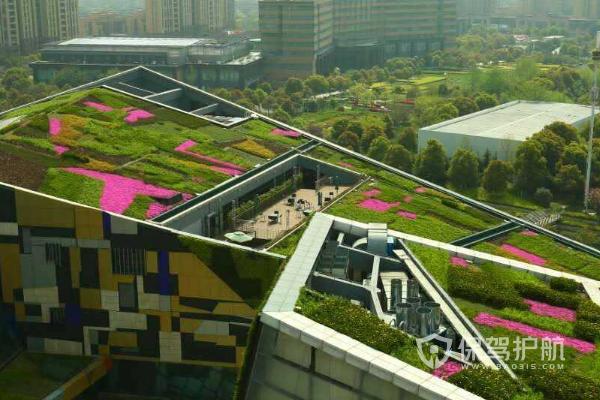 顶楼绿化效果-保驾护航装修网