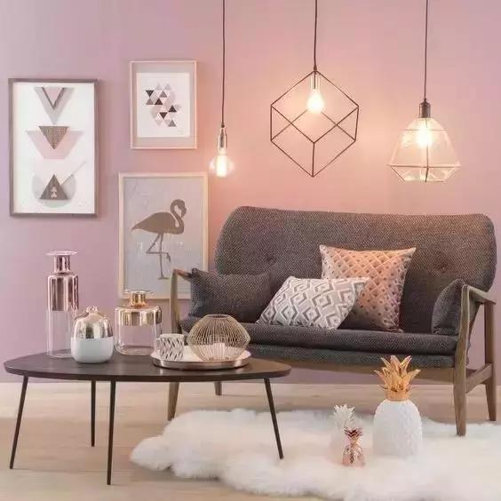墙面应该刷什么颜色,让居家生活更精致?