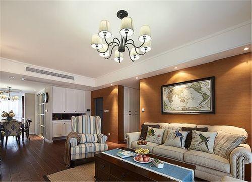 现代风情三居室装修效果图