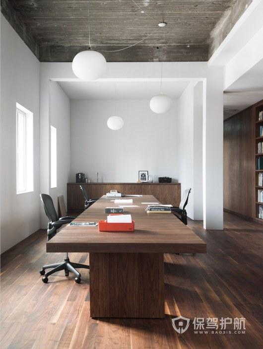 工业风领导办公室装修效果图