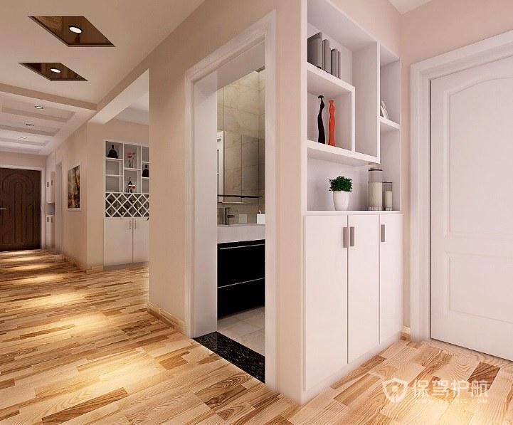 现代客厅隔断柜效果图 现代客厅隔断柜如何保养?