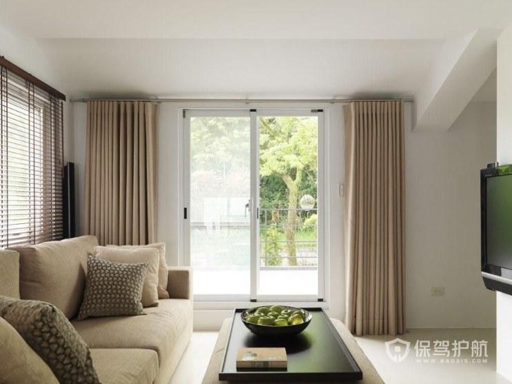 客廳窗簾選擇什么顏色合適? 客廳窗簾效果圖