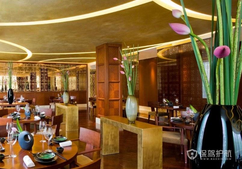 泰式风餐厅装修效果图