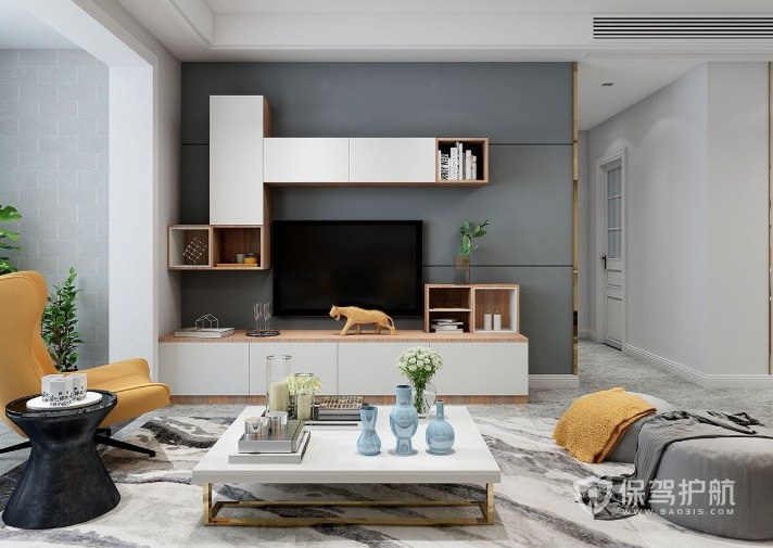 客廳安裝什么電視柜比較好? 客廳電視柜安裝圖
