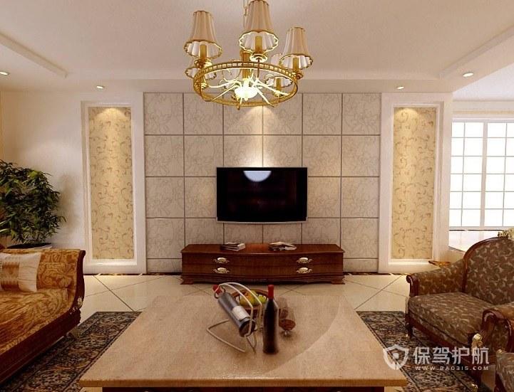 客厅电视墙用什么墙纸好?客厅电视墙设计注意点