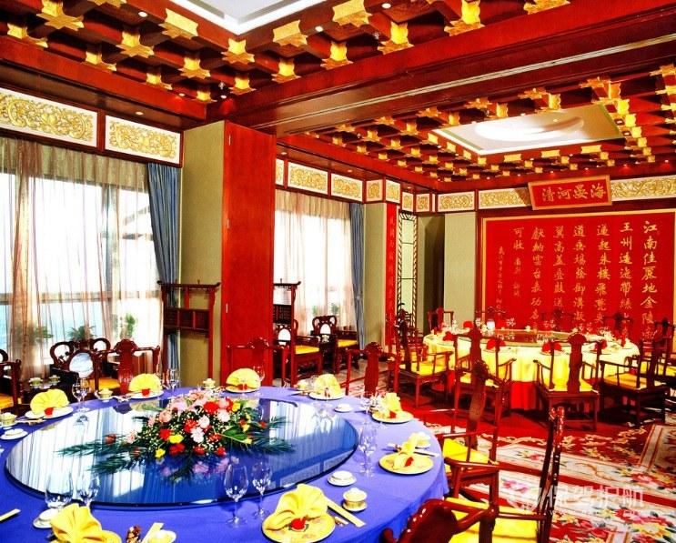 中國宮廷式餐廳裝修效果圖