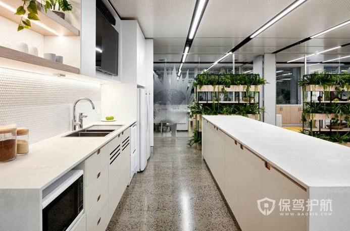 经典风格办公室茶水区装修效果图