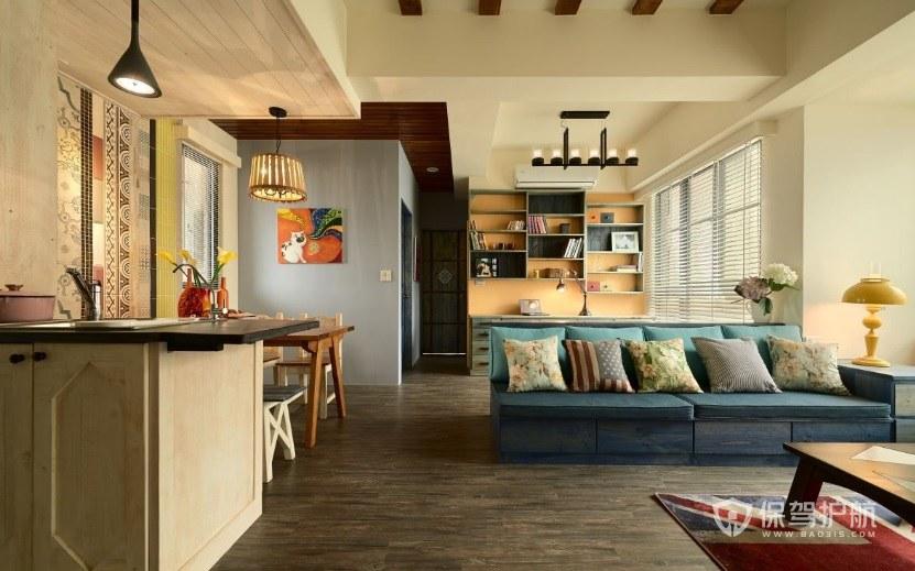 客厅卧室有哪些隔断方式选择? 客厅卧室隔断效果图