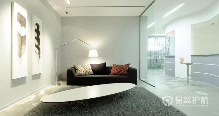 欧式办公室休闲区域装修效果图