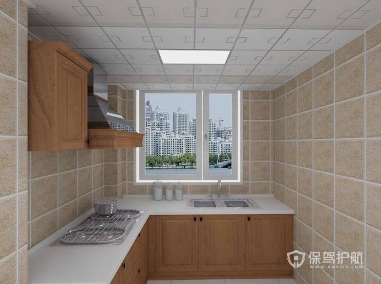 厨房集成吊顶怎么清洗?厨房集成吊顶安装什么颜色?