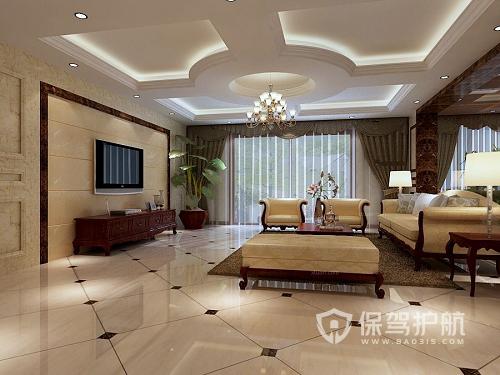 客厅吊顶高度黄金比例是多少?客厅常见吊顶方式有哪些?