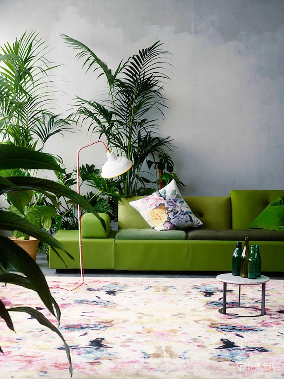草木绿家具怎么搭�钆浜每�?草木位置绿家具如何选购?